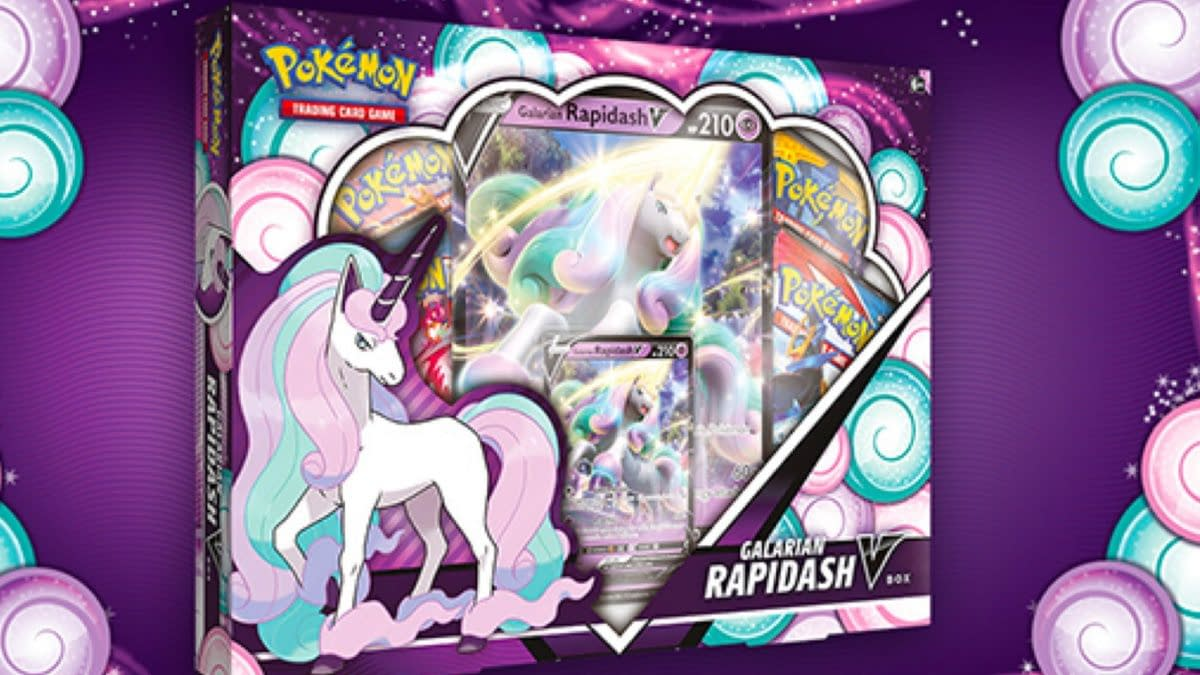 Pokémon TCG Product Review: Galarian Rapidash V Box