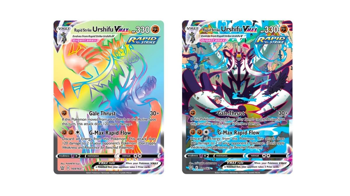 Secret Rare Cards of Pokémon TCG: Battle Styles Part 3