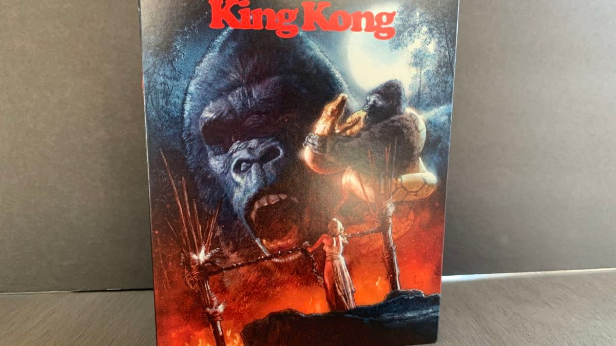King Kong 1976 Joins The Scream Factory Blu-ray Family {Review}