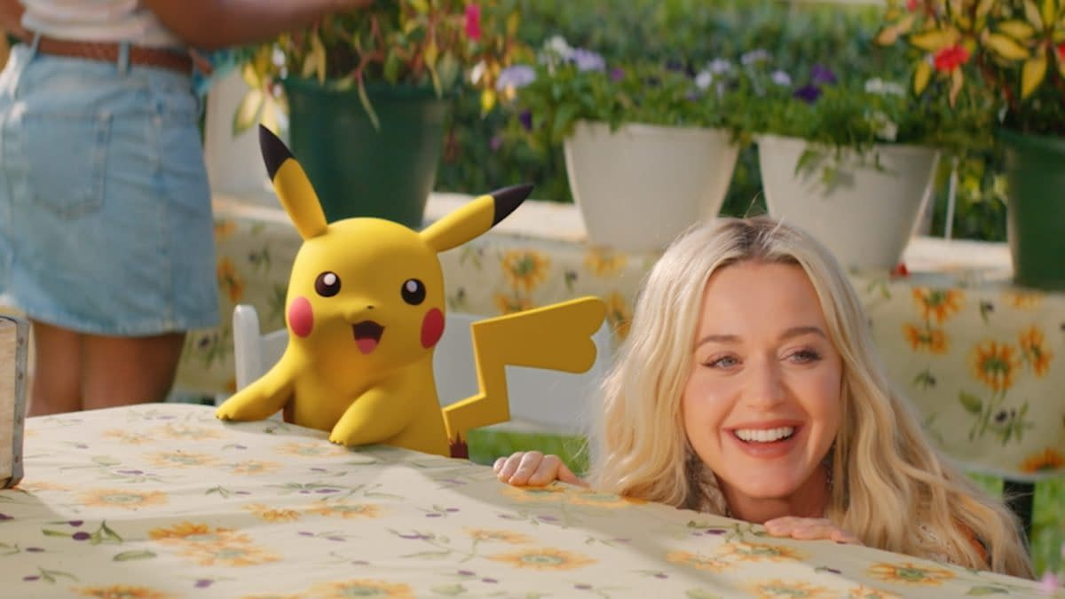 Katy Perry & Pokémon Unveils New Single With A Music Video