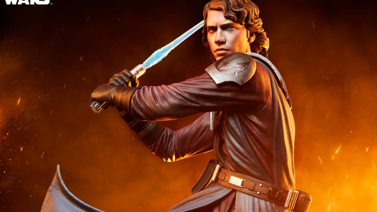 Anakin Skywalker Mythos Statue Revealed by Sideshow Collectibles