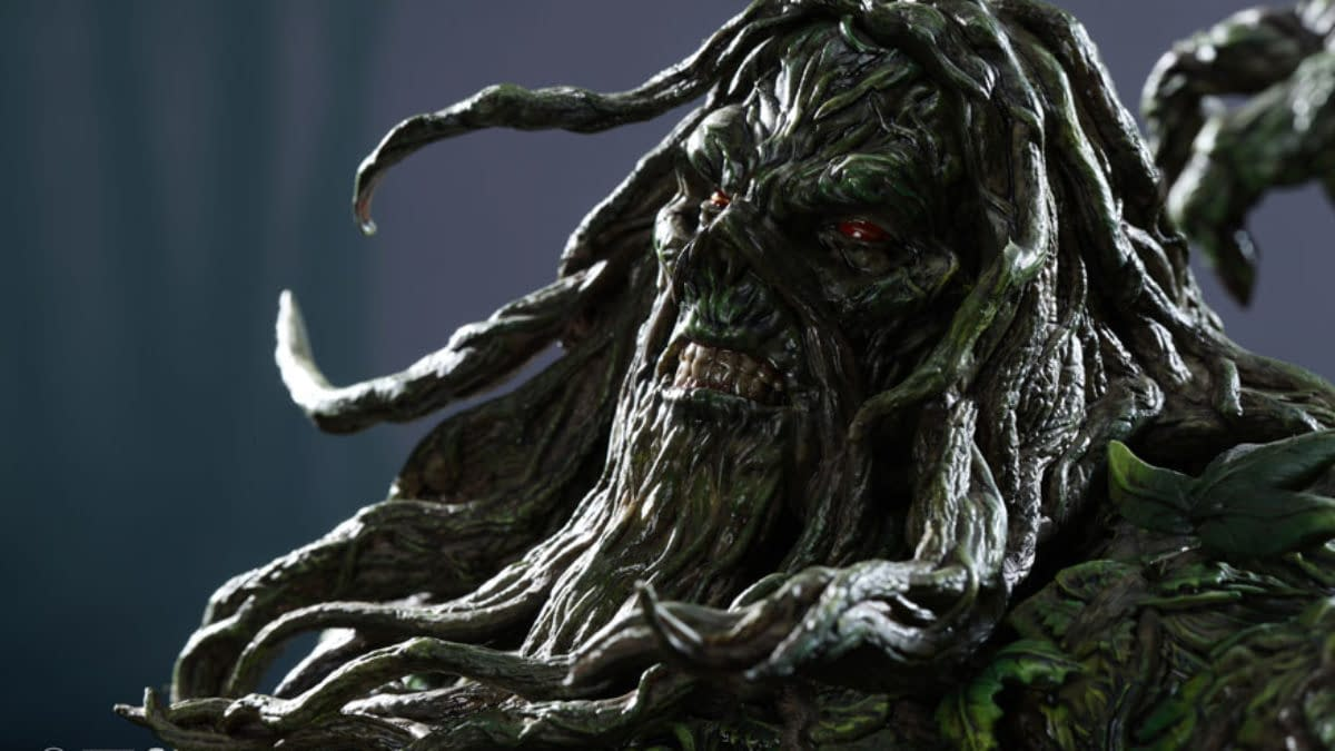 Swamp Thing Brings The Green XM Studios Newest DC Comics Statue