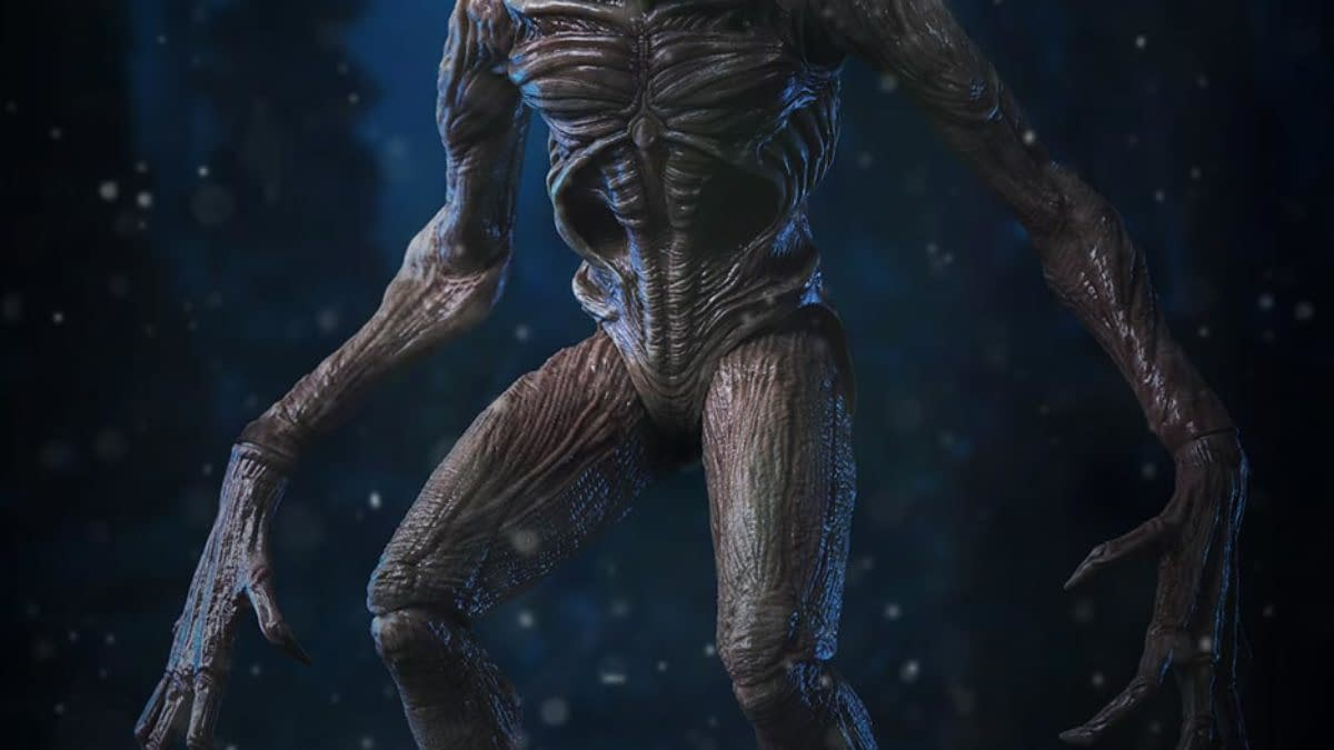 Stranger Things Demogorgon Lurks In The Shadows With threezero