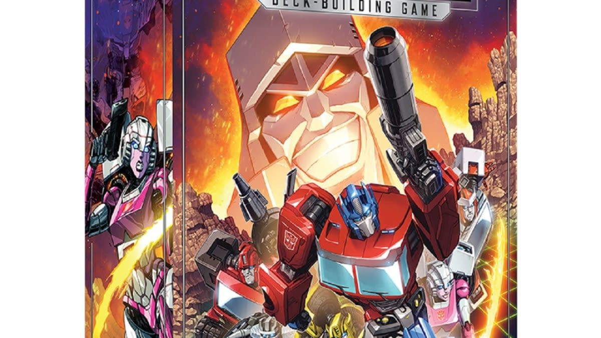 Renegade Game Studios Announces Transformers Deck-Building Game