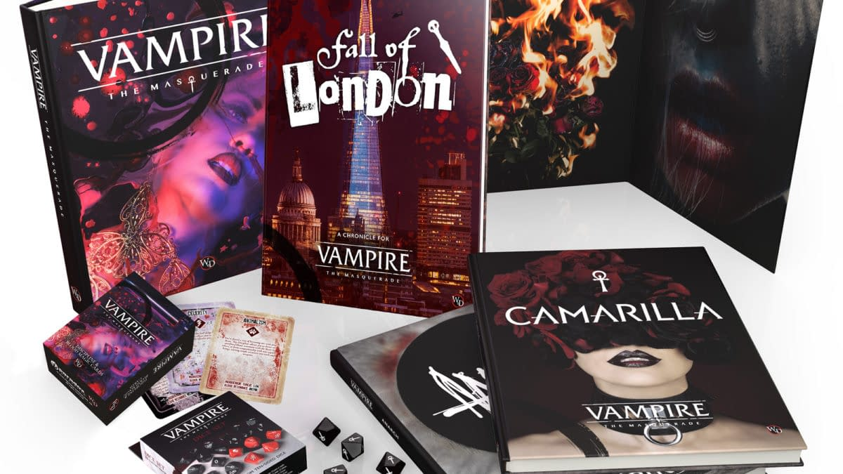 Modiphius Entertainment Vampire: The Masquerade