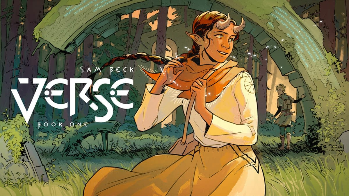 VERSE: Sam Beck's YA Fantasy Graphic Novel Coming from Wonderbound
