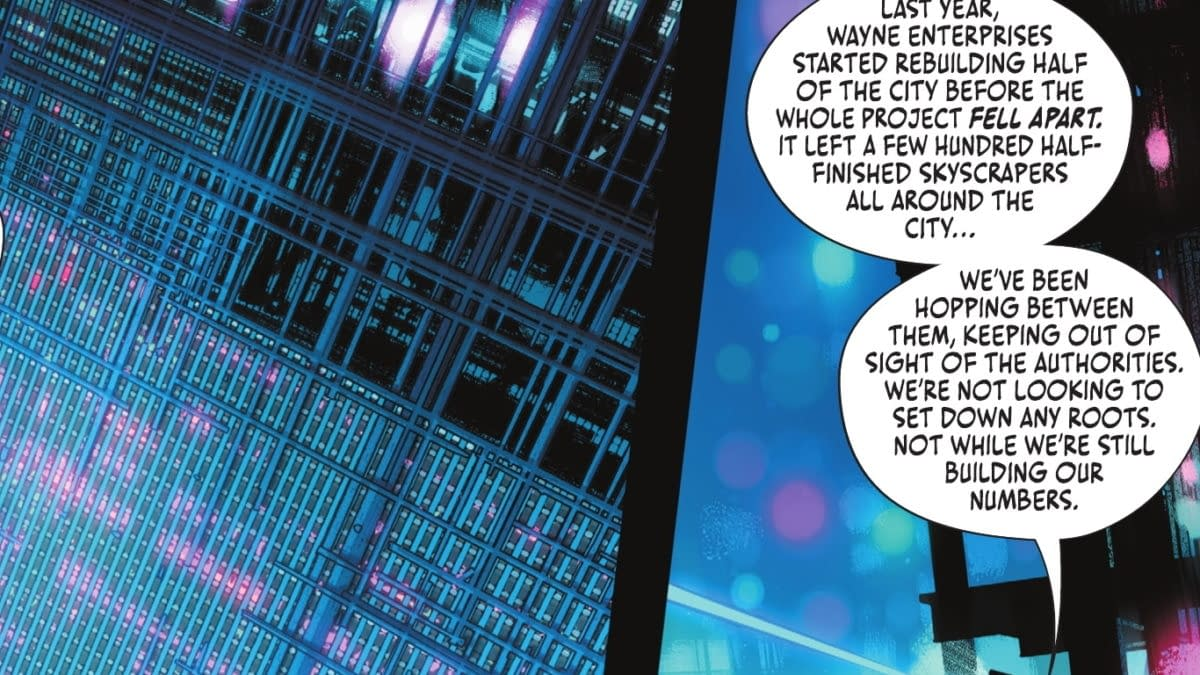 Batman #108 - Welcome To Gotham Two Where The Rich Aren't Even People