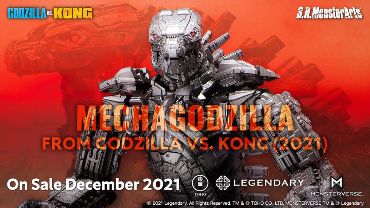 Mechagodzilla From Godzilla vs Kong Arrives From Tamashii Nations