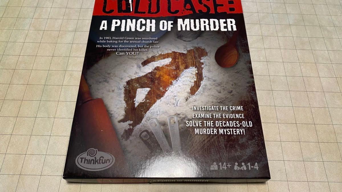 REVIEW: Cold Case: A Pinch Of Murder, By ThinkFun Games