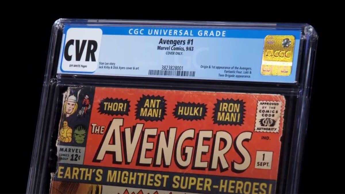 CGC Insider: Avengers #1 CVR graded