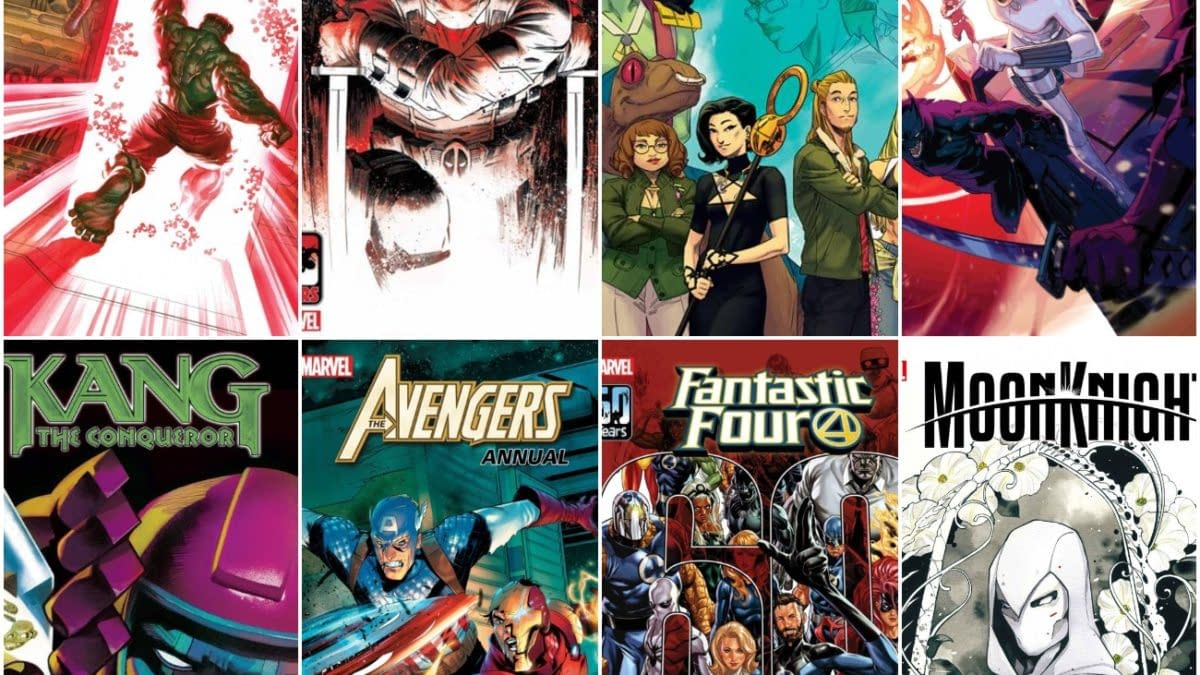 Marvel Comics August 2021 Solicits and Solicitations, Frankensteined