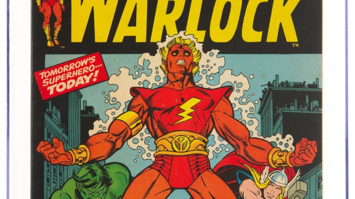 Marvel Premiere 1 featuring Adam Warlock, Marvel Comics 1972.