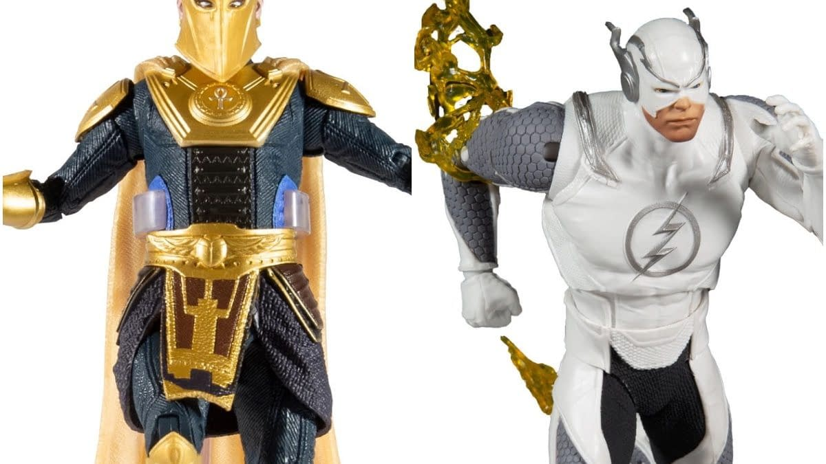 McFarlane Toys Reveals New Injustice 2 Figures With Flash and Dr.Fate
