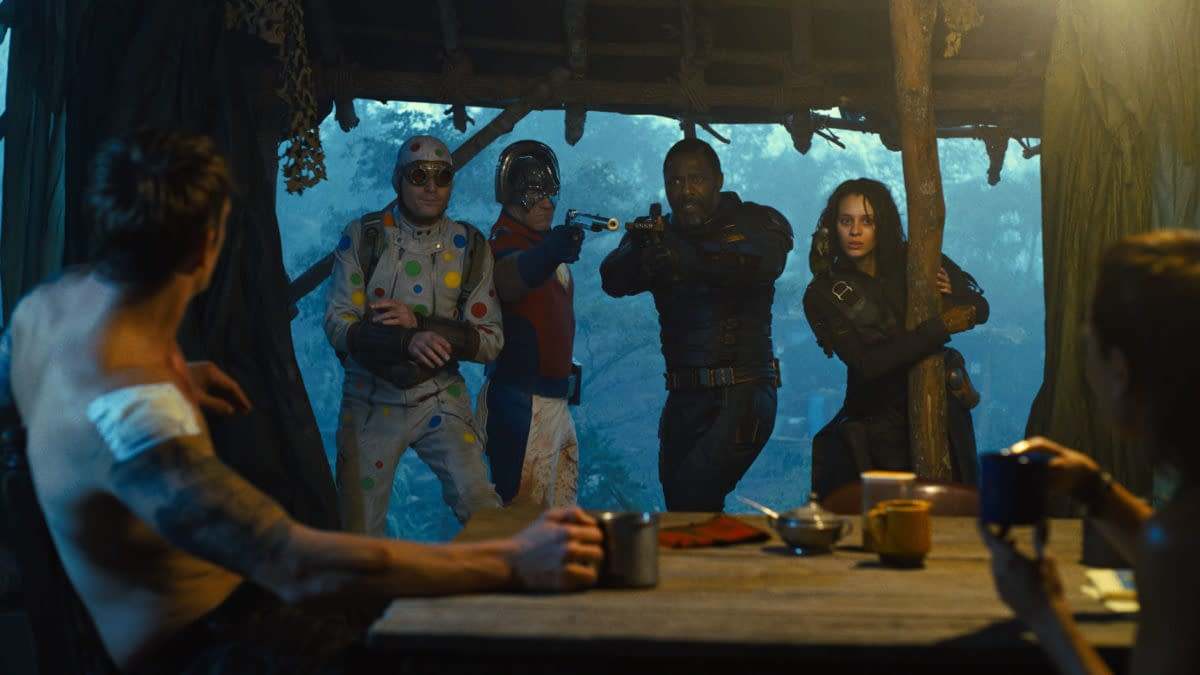 The Suicide Squad: 3 New Images and 1 New Behind-The-Scenes Image