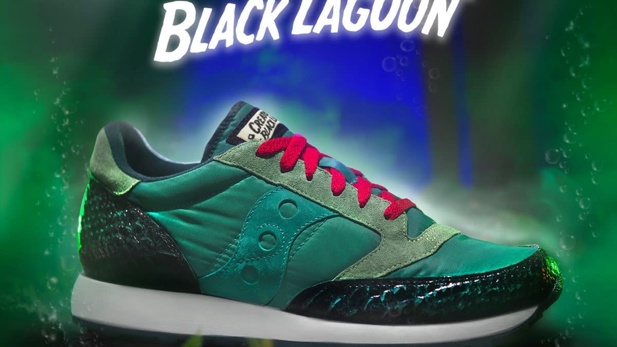 Universal Monsters Super7 X Saucony Shoes Up Revealed