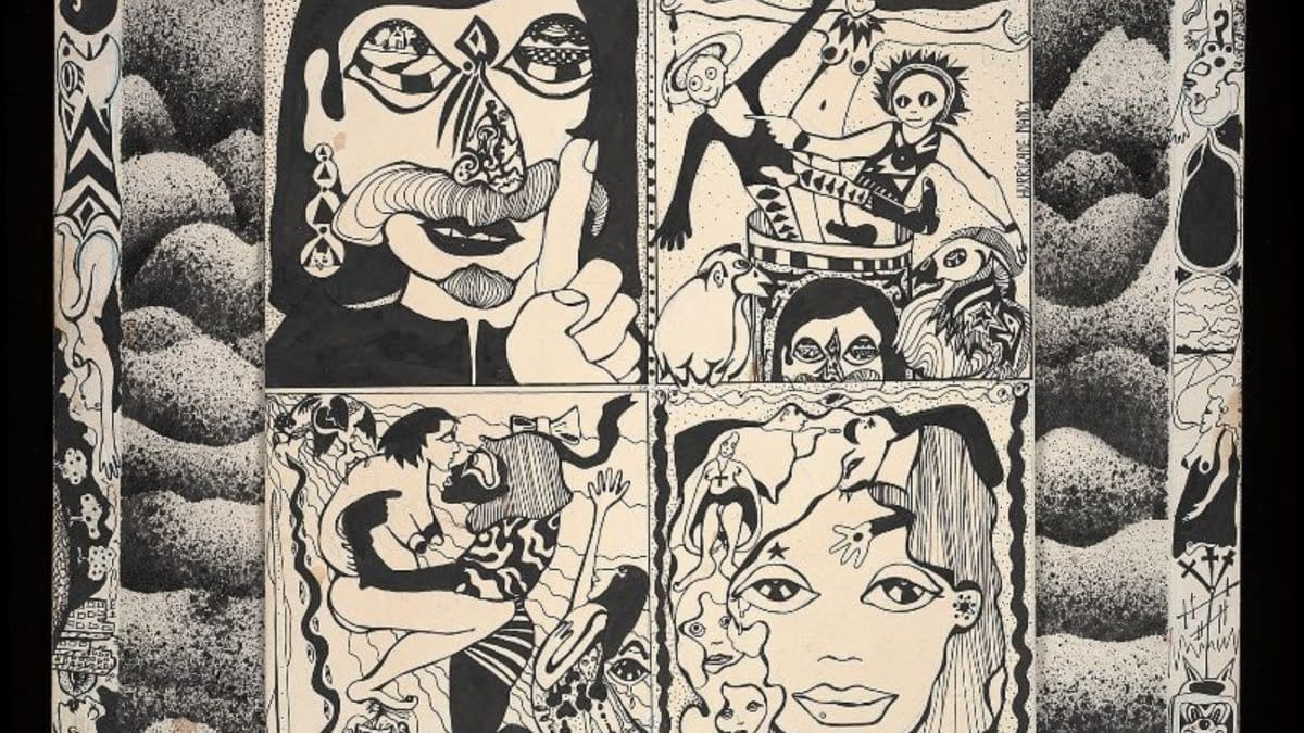 "UndergroundCartoonist""HurricaneNancy"" BurtonDonatesOriginal ArtCollectionto Billy Ireland Cartoon Library & Museum"
