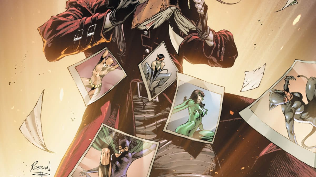 Cover image for CATWOMAN #32 CVR A ROBSON ROCHA