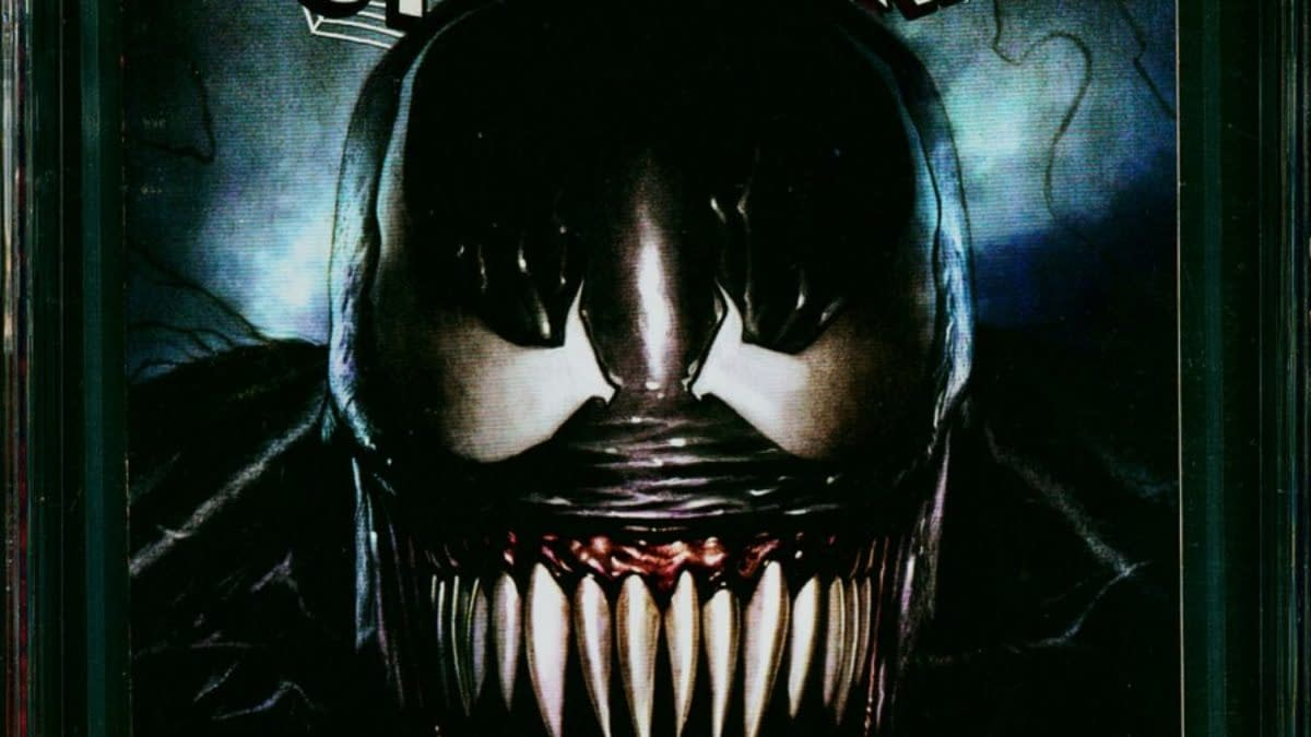 A Venom Variant Favorite Is Up For Auction At Comic Connect
