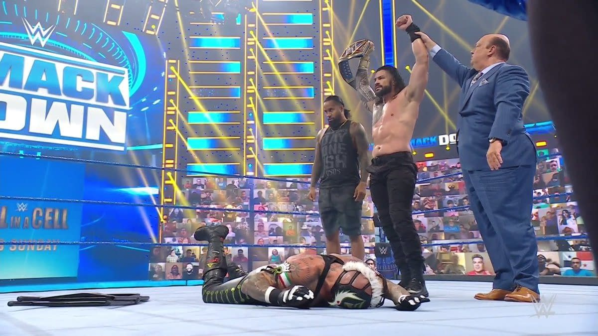 Roman Reigns stands tall on one of the worst episodes of WWE Smackdown in recent memory.