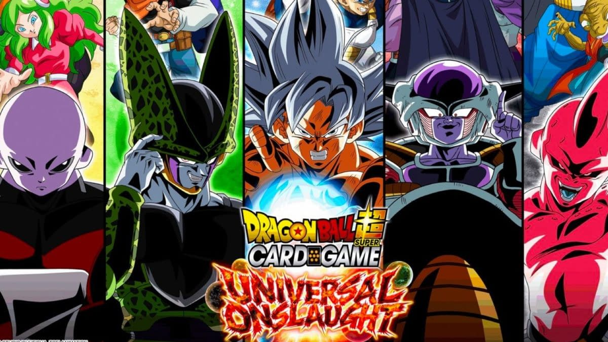 Dragon Ball Super Card Game: Universal Onslaught Checklist