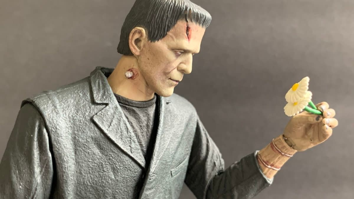 NECA's Universal Monsters Frankenstein Figure May Be Best Of The Year