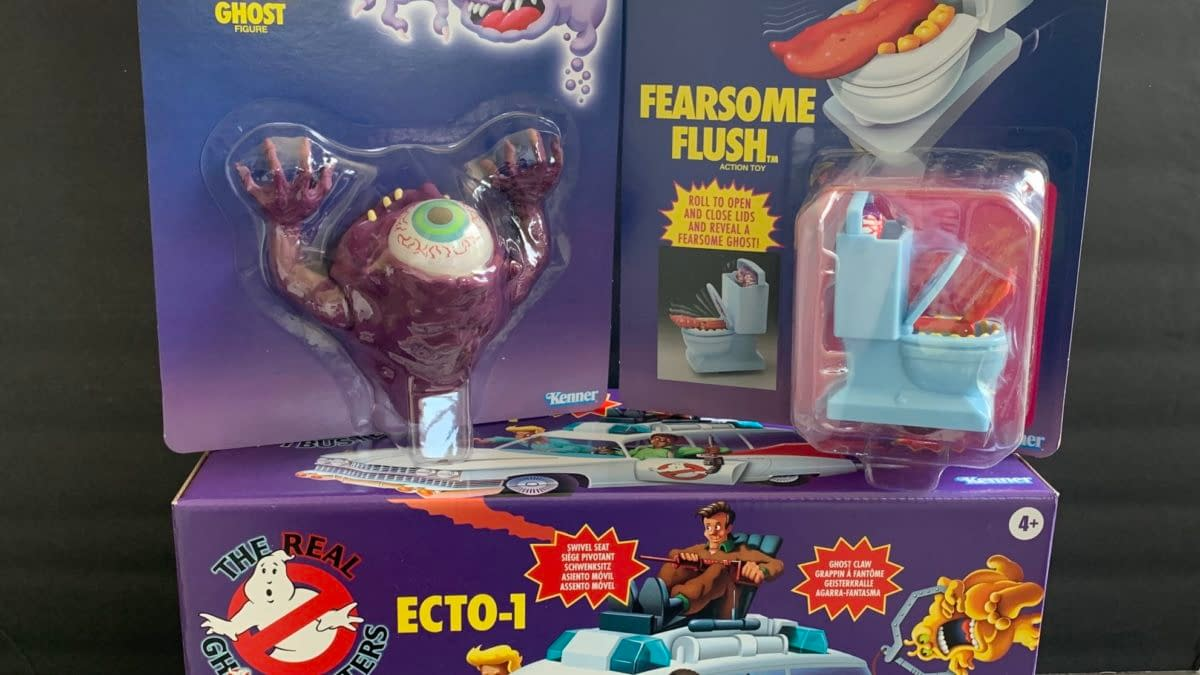 We Take A Look At Hasbro's New Real Ghostbusters Ecto-1 & Ghosts