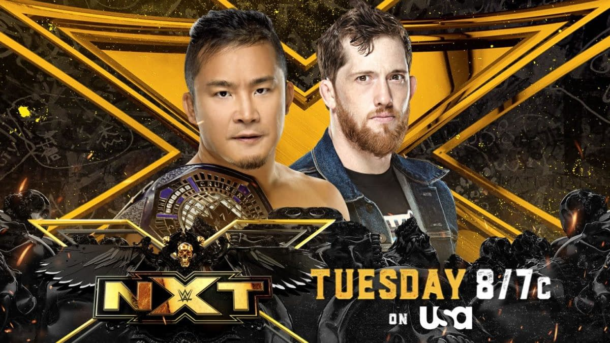 NXT Preview For 6/22- Kushida vs O'Reilly For The Cruiserweight Title