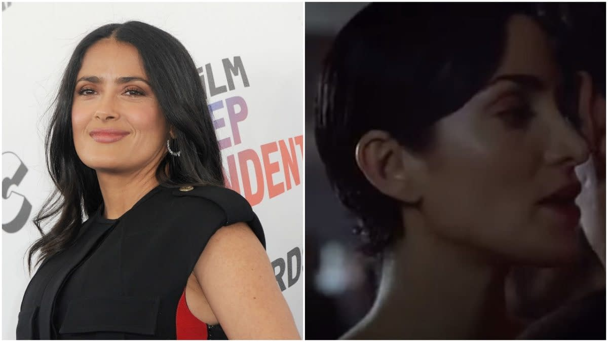 """The Matrix: Salma Hayek on How """"Lazy"""" Cost Her Trinity in Audition"""
