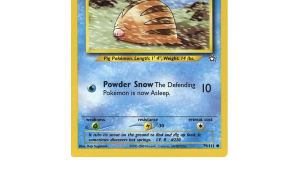 TCG Spotlight: Some of the Best Swinub Pokémon Cards