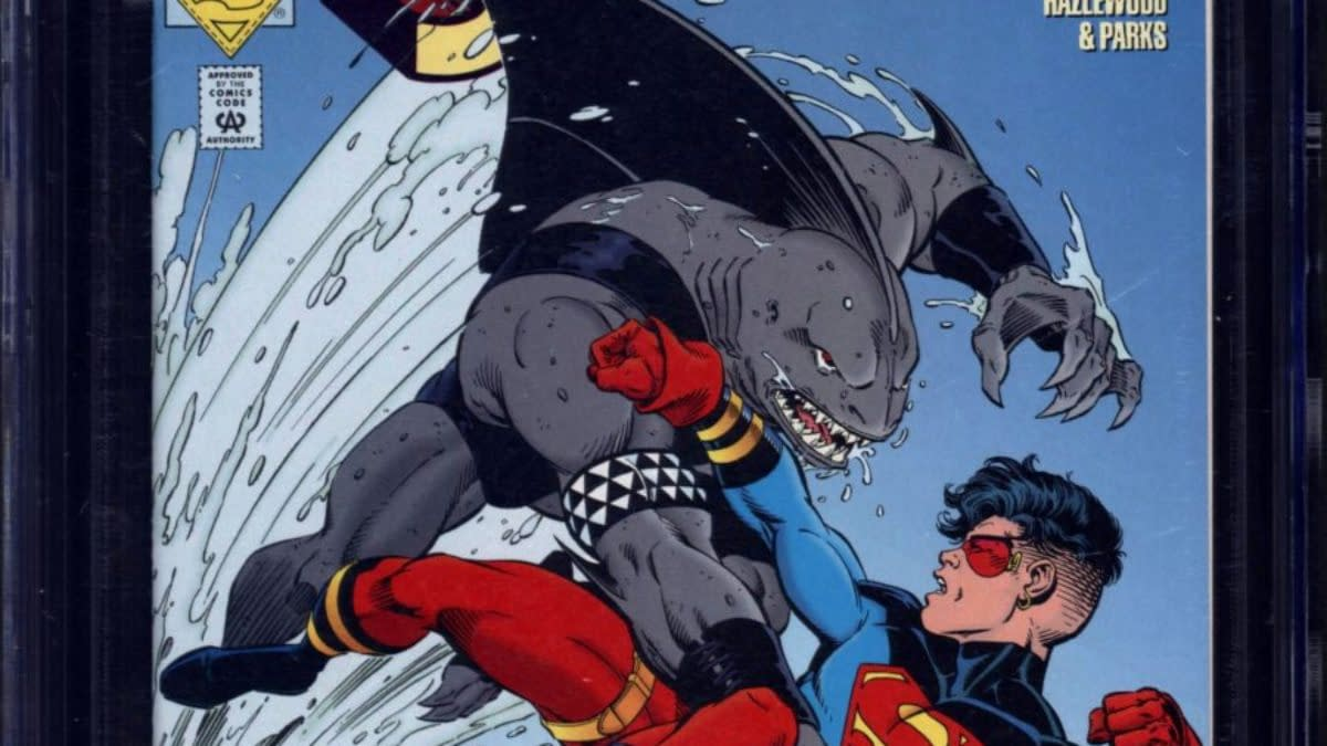 King Shark Debut CGC 9.8 Copy On Auction At ComicConnect