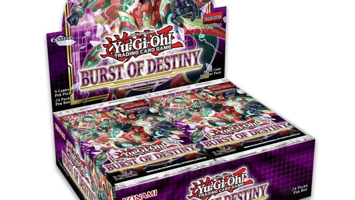 Yu-Gi-Oh! TCG Reveals New Booster Set With Burst Of Destiny