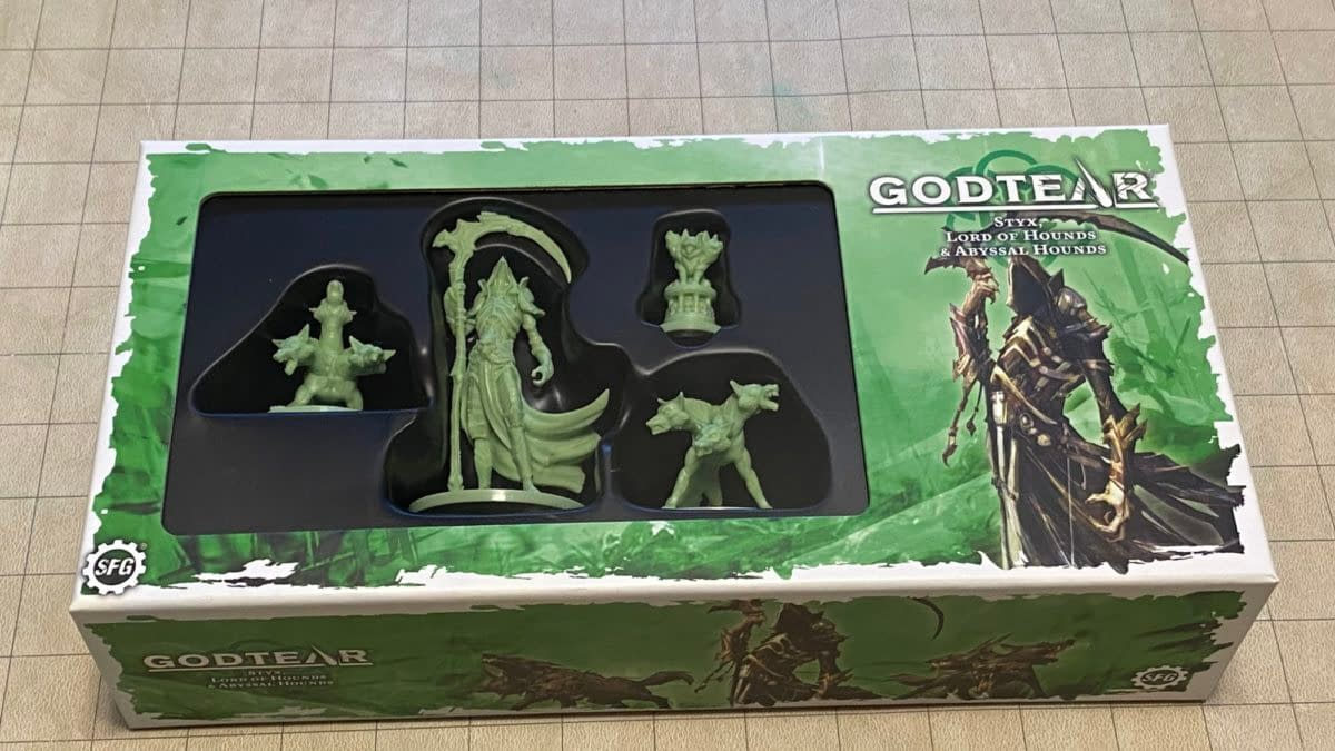 Review: Godtear's Styx Boxed Set Release From Steamforged Games