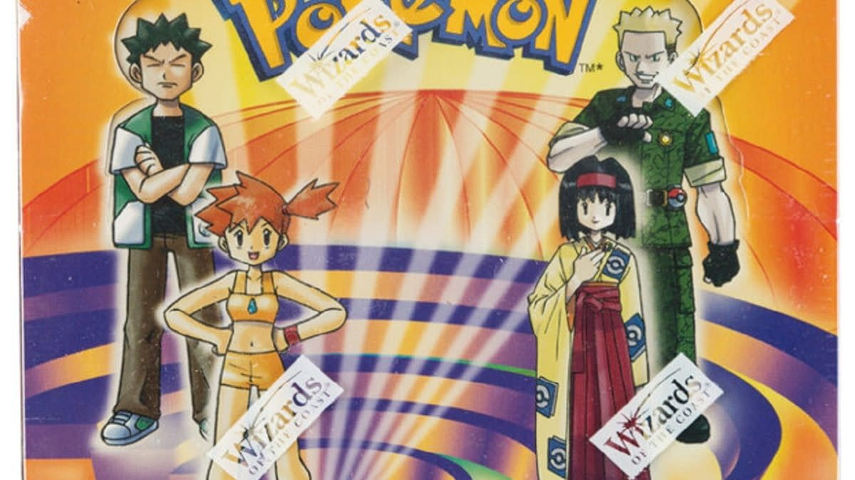 Pokémon TCG Gym Heroes 1st Edition Booster Box Auction At Heritage