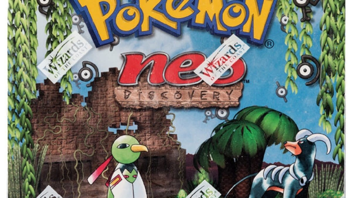 Pokémon TCG Neo Discovery 1st Ed Booster Box Auction At Heritage