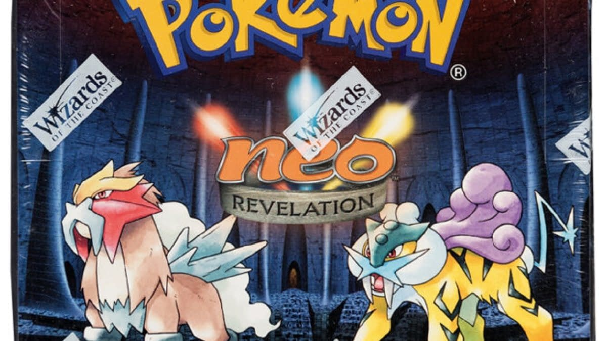 Pokémon TCG Neo Revelation 1st Ed Booster Box Auction At Heritage