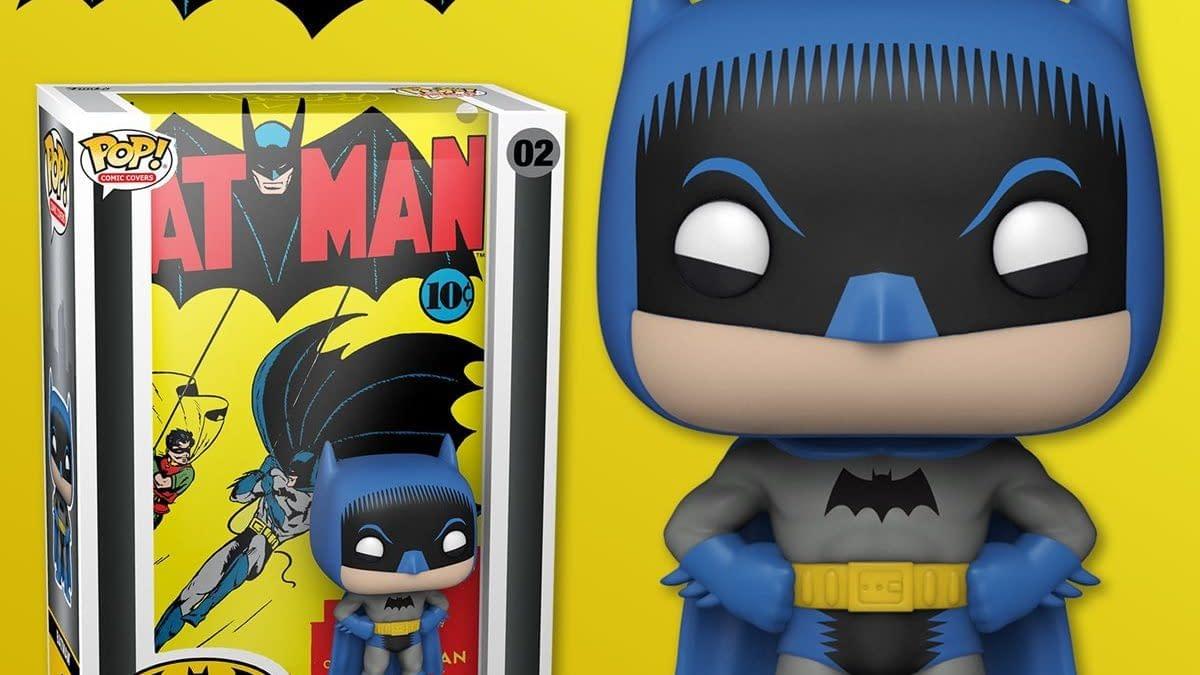 Funko Reveals 1940 Batman #1 Comic Cover Pop Album Display