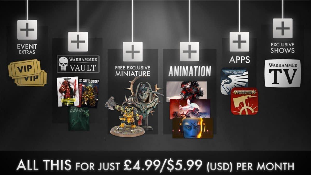 Games Workshop Starts Brand-New Warhammer+ Subscription Service