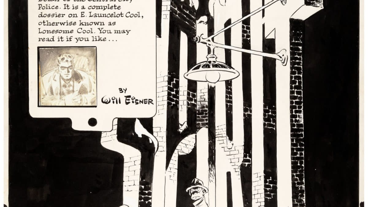 Complete 7 Page Will Eisner Spirit Story Original Artwork From 1949 Auctioned