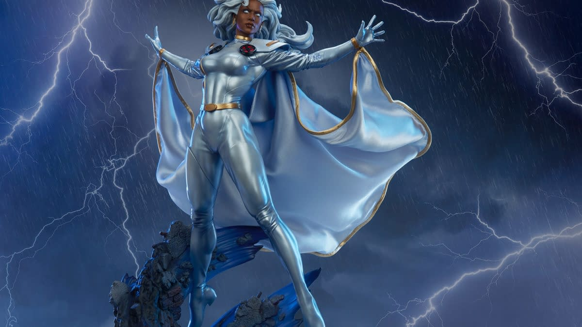 X-Men's Storm Is A Goddess With Sideshow Collectibles Newest Statue