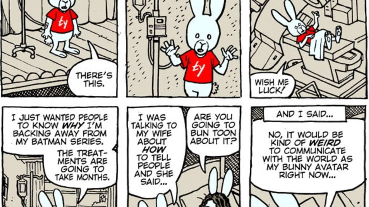 Ty Tempeton Creates Cartoon To Talk About Cancer Diagnosis