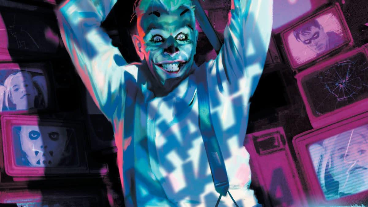 Cover image for SUICIDE SQUAD GET JOKER #1 (OF 3) CVR A ALEX MALEEV (MR)