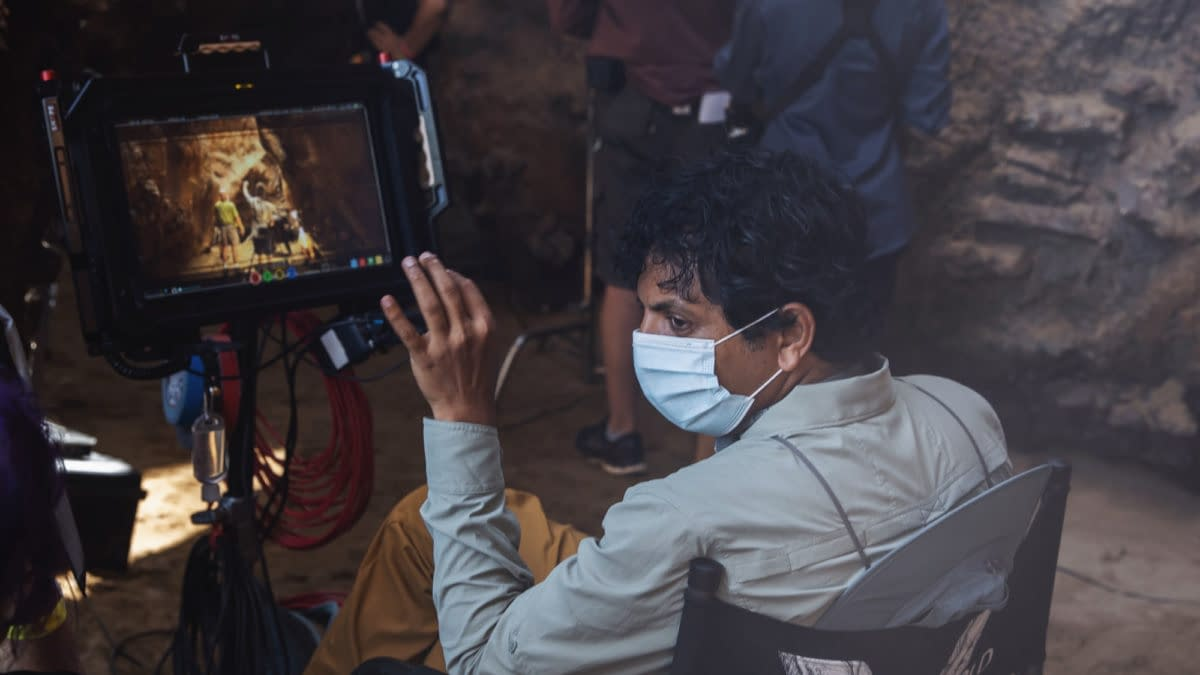 Old: M. Night Shyamalan Talks Shooting Weather and COVID Restrictions