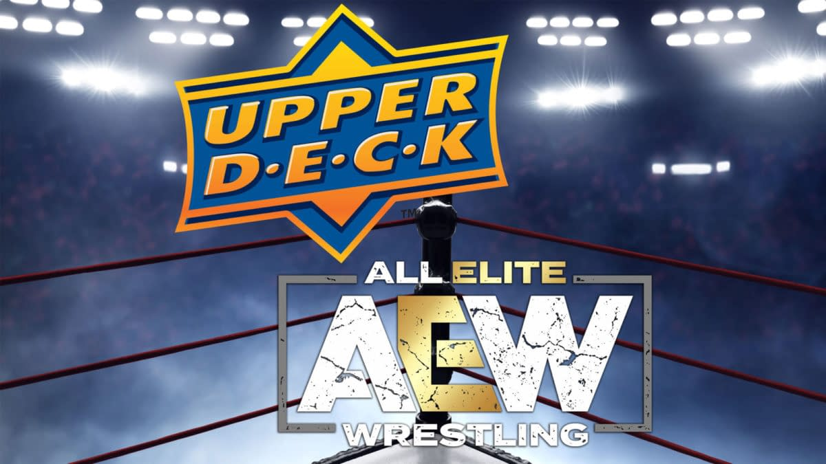 All Elite Wresting & Upper Deck Sign Multi-Year Deal