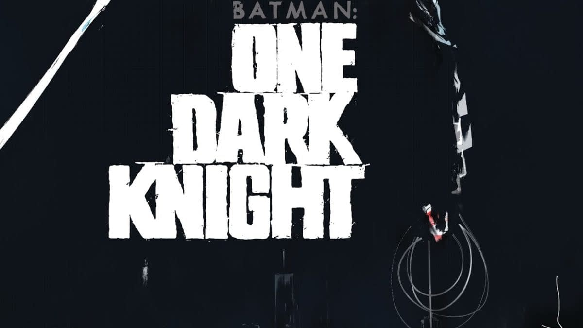 The cover to Batman: One Dark Knight by Jock