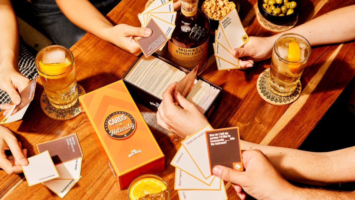 Monkey Shoulder Releases Cards For Hilarity To Benefit Hospital Workers