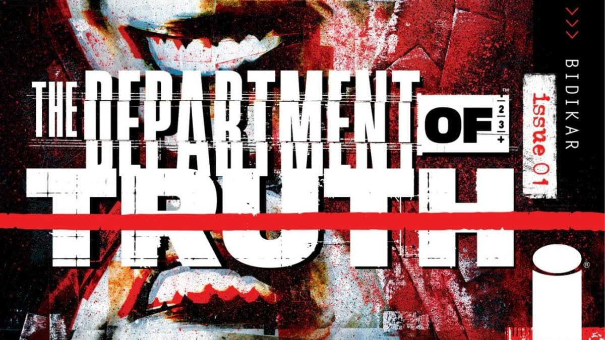 The Department of Truth #1 Sixth And Final Covers Were Switched By Mistake