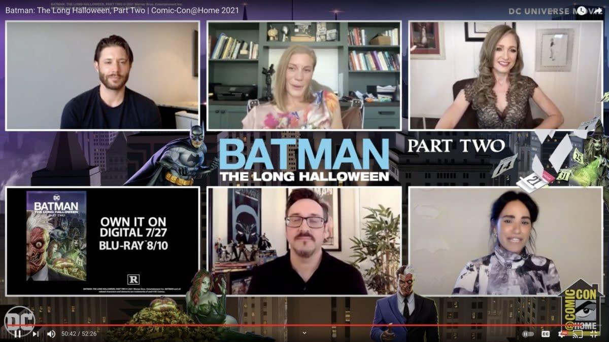 Baker Praises Ackles during 'Batman: The Long Halloween' CC@Home panel