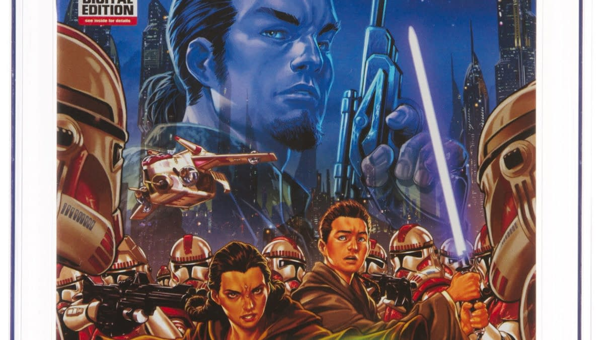 Star Wars Kanan #1 CGC Copy On Auction At Heritage Auctions
