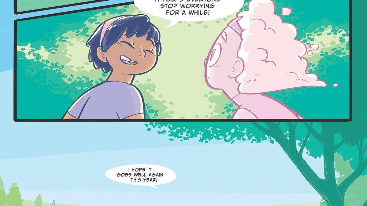 Oni Buys Amanda Weidman's Graphic Novel Mari And The Cloud Princess