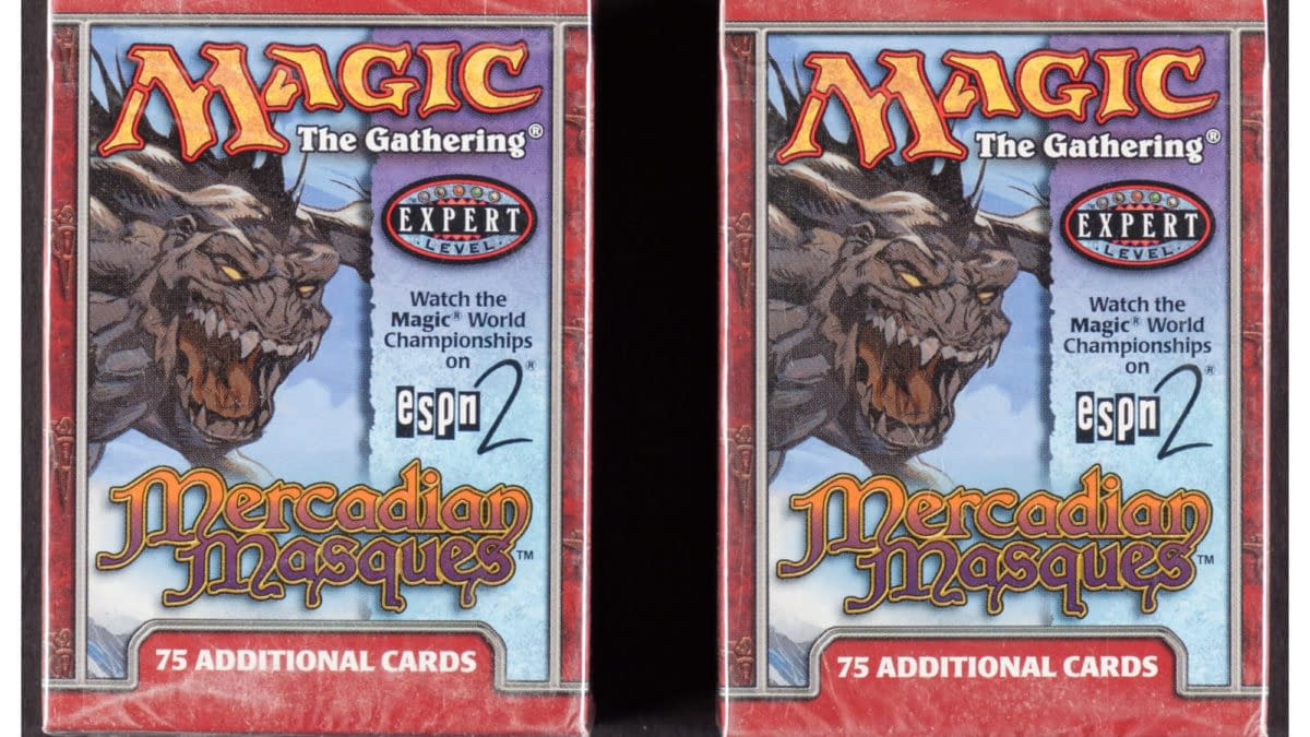 Magic: The Gathering Masques Tournament Packs Auction At Heritage